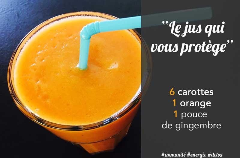 jus de carotte gingembre