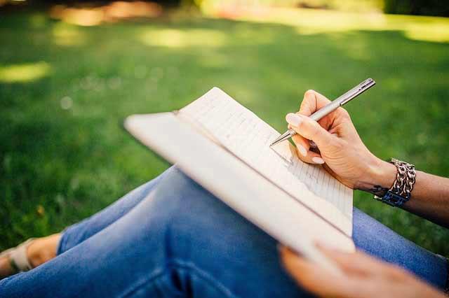 écrire main