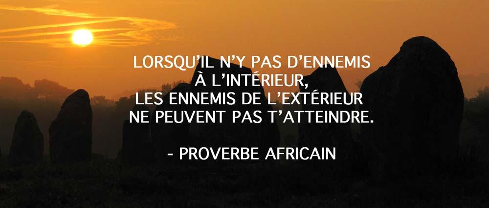 proverbe africain confiance en soi