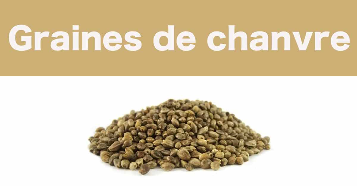 graines de chanvre