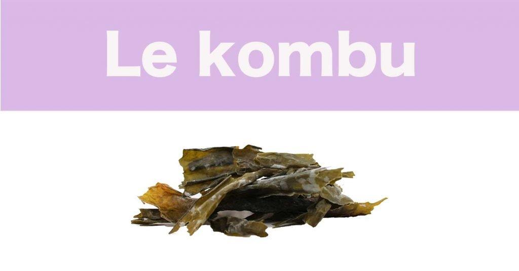 Le kombu, super algue comestible